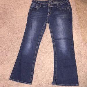 Vanity Jeans 33W/31L Sasha Dark Wash NWOT